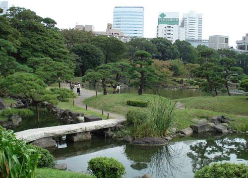 jardines en Tokyo